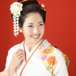 日本髪振袖美人