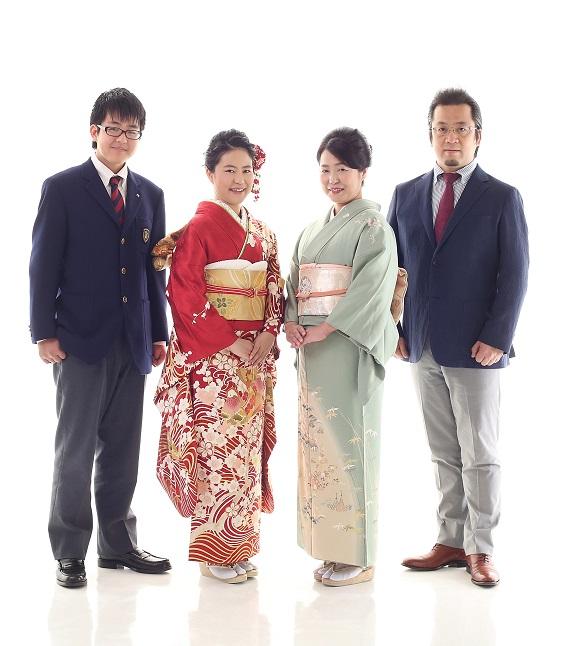 成人式の前撮り_家族写真