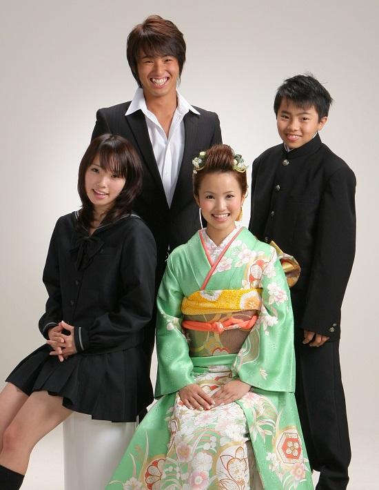上田幸子様 4兄弟550