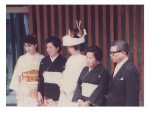 30年前の花嫁姿