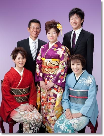 西原さま家族写真