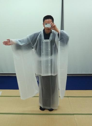 振袖用雨コート
