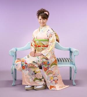 名古屋市の振袖美人