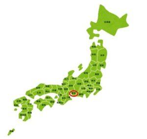 日本地図イラスト