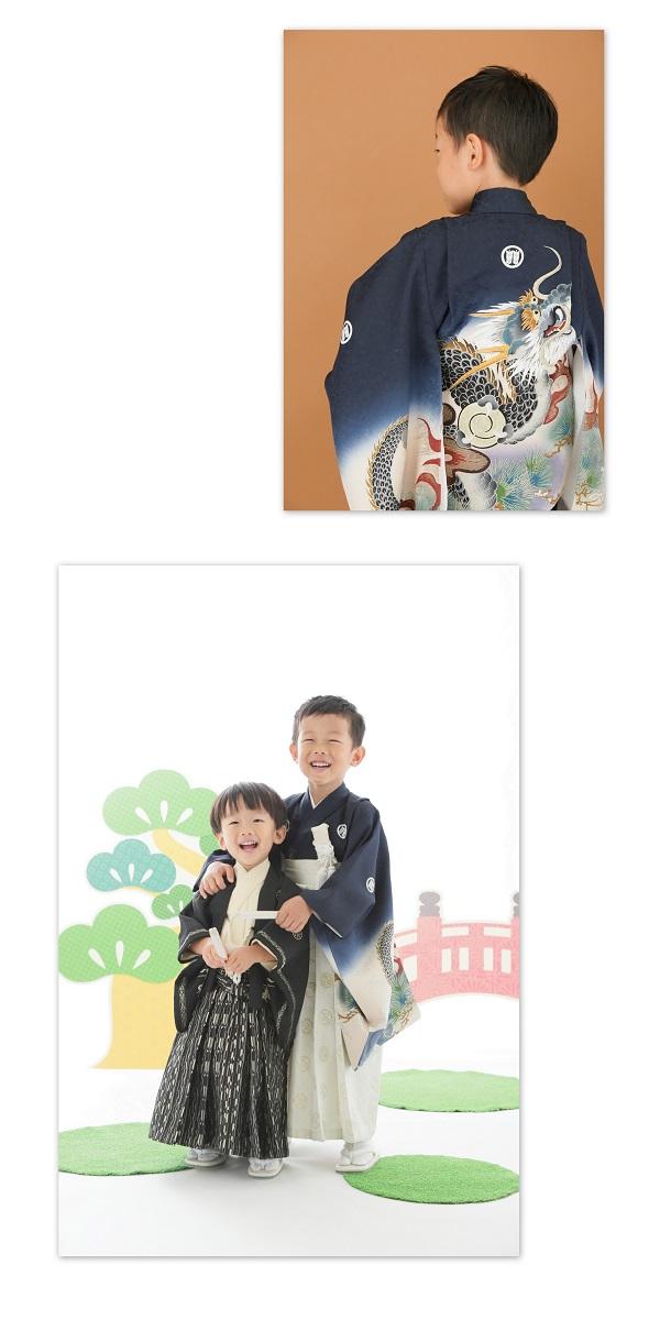 男の子5歳の七五三写真
