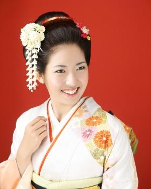 日本髪【振袖美人】