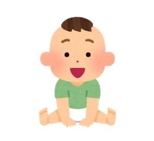 男の子赤ちゃんイラスト