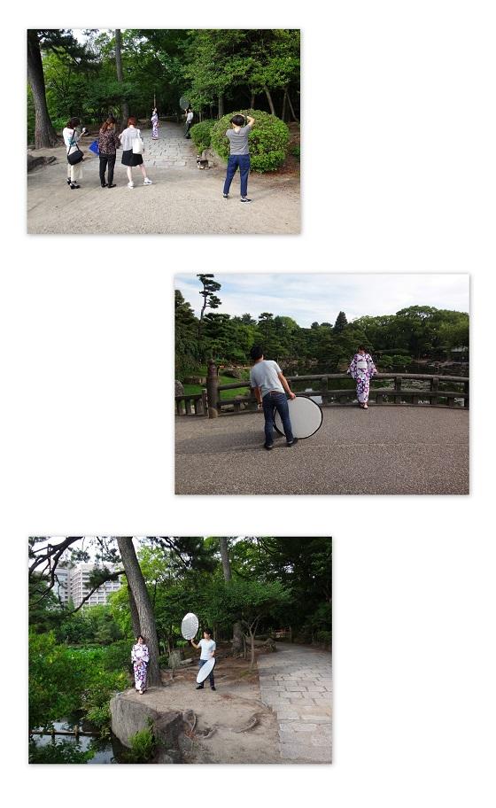 鶴舞公園ロケーション撮影コラージュ01_560