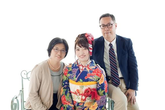 赤堀さま家族写真