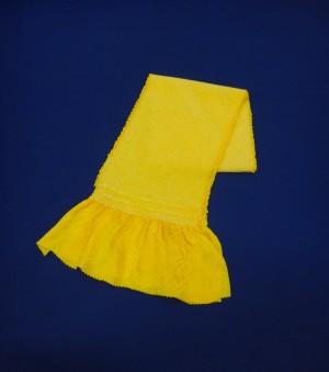 振袖用絞り黄色帯揚げ