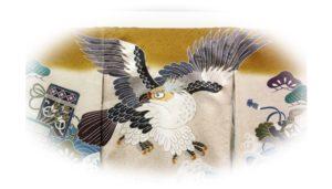 【男の子のお宮参りの初着】は鷹が人気です!