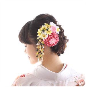 ママの振袖に【ピッタリの髪飾り】