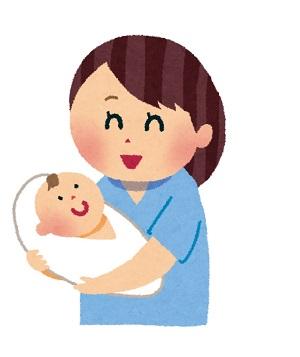 赤ちゃん 出産イラスト