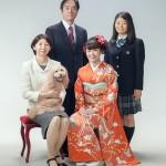 ペットフォト_成人式家族写真