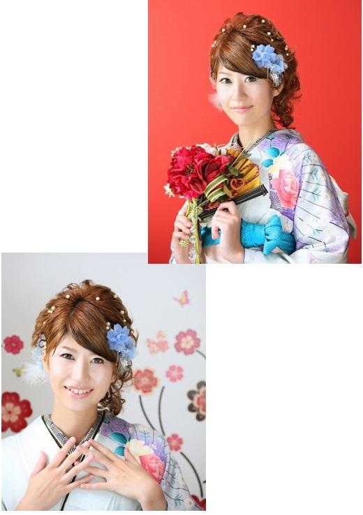 名古屋市の和服美人